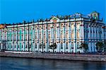 The Winter Palace in evening light, UNESCO World Heritage Site, St. Petersburg, Russia, Europe Stock Photo - Premium Rights-Managed, Artist: Robert Harding Images, Code: 841-06500981