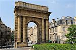 Porte de Bourgogne, Bordeaux, UNESCO World Heritage Site, Gironde, Aquitaine, France, Europe Stock Photo - Premium Rights-Managed, Artist: Robert Harding Images, Code: 841-06501056