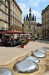 View of Porte Cailhau from Place de Palais, Bordeaux, UNESCO World Heritage Site, Gironde, Aquitaine, France, Europe Stock Photo - Premium Rights-Managed, Artist: Robert Harding Images, Code: 841-06501059