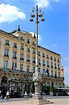 Regent Hotel Facade, Grand Hotel de Bordeaux, Place de la Comedie, Bordeaux, UNESCO World Heritage Site, Gironde, Aquitaine, France, Europe Stock Photo - Premium Rights-Managed, Artist: Robert Harding Images, Code: 841-06501069
