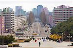 City streets, Hamhung, Democratic People's Republic of Korea (DPRK), North Korea, Asia Stock Photo - Premium Rights-Managed, Artist: Robert Harding Images, Code: 841-06501247