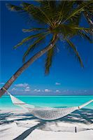 Hammock on tropical beach, Maldives, Indian Ocean, Asia Stock Photo - Premium Rights-Managednull, Code: 841-06501294
