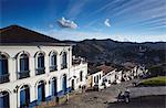 View of Ouro Preto, UNESCO World Heritage Site, Minas Gerais, Brazil, South America Stock Photo - Premium Rights-Managed, Artist: Robert Harding Images, Code: 841-06501367