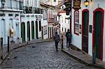 People walking along street, Ouro Preto, UNESCO World Heritage Site, Minas Gerais, Brazil, South America Stock Photo - Premium Rights-Managed, Artist: Robert Harding Images, Code: 841-06501370
