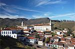View of Ouro Preto, UNESCO World Heritage Site, Minas Gerais, Brazil, South America Stock Photo - Premium Rights-Managed, Artist: Robert Harding Images, Code: 841-06501373