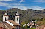 View of Our Lady of Merces de Baixo Church, Ouro Preto, UNESCO World Heritage Site, Minas Gerais, Brazil, South America Stock Photo - Premium Rights-Managed, Artist: Robert Harding Images, Code: 841-06501379