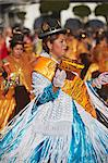 Women dancing in festival in Plaza 25 de Mayo, Sucre, UNESCO World Heritage Site, Bolivia, South America Stock Photo - Premium Rights-Managed, Artist: Robert Harding Images, Code: 841-06501611