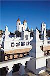 Rooftop of Convento de San Felipe Neri, Sucre, UNESCO World Heritage Site, Bolivia, South America Stock Photo - Premium Rights-Managed, Artist: Robert Harding Images, Code: 841-06501652