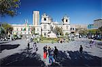 Plaza Pedro Murillo, La Paz, Bolivia, South America Stock Photo - Premium Rights-Managed, Artist: Robert Harding Images, Code: 841-06501745