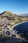 View of Copacabana, Lake Titicaca, Bolivia, South America Stock Photo - Premium Rights-Managed, Artist: Robert Harding Images, Code: 841-06501781