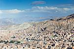 View of houses on mountainside, La Paz, Bolivia, South America Stock Photo - Premium Rights-Managed, Artist: Robert Harding Images, Code: 841-06501811