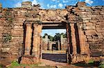 Ruins of mission at San Ignacio Mini, UNESCO World Heritage Site, Misiones, Argentina, South America Stock Photo - Premium Rights-Managed, Artist: Robert Harding Images, Code: 841-06501847