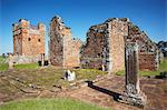Ruins of Jesuit mission at Trinidad (La Santisima Trinidad de Parana), UNESCO World Heritage Site, Parana Plateau, Paraguay, South America Stock Photo - Premium Rights-Managed, Artist: Robert Harding Images, Code: 841-06501859