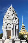 Kantha Bopha Stupa at Silver Pagoda in Royal Palace, Phnom Penh, Cambodia, Indochina, Southeast Asia, Asia Stock Photo - Premium Rights-Managed, Artist: Robert Harding Images, Code: 841-06501913