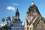 Stupas at Wat Nokor, Kampong Cham, Cambodia, Indochina, Southeast Asia, Asia Stock Photo - Premium Rights-Managed, Artist: Robert Harding Images, Code: 841-06501937