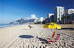 Ipanema beach at sunset, Rio de Janeiro, Brazil, South America Stock Photo - Premium Rights-Managed, Artist: Robert Harding Images, Code: 841-06501949