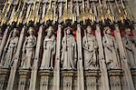 Statues of Saints, York Minster, York, Yorkshire, England, United Kingdom, Europe Stock Photo - Premium Rights-Managed, Artist: Robert Harding Images, Code: 841-06502001