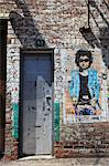 Bob Dylan, street art, Meatpacking District, Manhattan, New York City, United States of America, North America Stock Photo - Premium Rights-Managed, Artist: Robert Harding Images, Code: 841-06502025