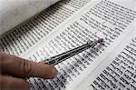 Jewish Torah scroll with pointer, Paris, France, Europe Stock Photo - Premium Rights-Managed, Artist: Robert Harding Images, Code: 841-06502081