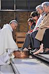 Washing feet, Maundy Thursday, Easter week celebration, Paris, France, Europe Stock Photo - Premium Rights-Managed, Artist: Robert Harding Images, Code: 841-06502084