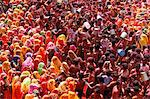 Holi celebration in Dauji temple, Dauji, Uttar Pradesh, India, Asia Stock Photo - Premium Rights-Managed, Artist: Robert Harding Images, Code: 841-06502165