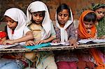 Girls studying in a medersa (koranic school), Fatehpur Sikri, Uttar Pradesh, India, Asia Stock Photo - Premium Rights-Managed, Artist: Robert Harding Images, Code: 841-06502198