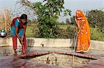 Women fetching water, Mathura, Uttar Pradesh, India, Asia Stock Photo - Premium Rights-Managed, Artist: Robert Harding Images, Code: 841-06502207