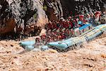 Rafting down the Colorado River through turbulent waters of the Grand Canyon, Arizona, United States of America, North America Stock Photo - Premium Rights-Managed, Artist: Robert Harding Images, Code: 841-06502483