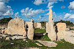 Prehistoric temple of Haqar Qim, UNESCO World Heritage Site, Malta, Europe Stock Photo - Premium Rights-Managed, Artist: Robert Harding Images, Code: 841-06502519
