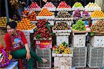 Fruit store, Central Market, Phnom Penh, Cambodia, Indochina, Southeast Asia, Asia Stock Photo - Premium Rights-Managed, Artist: Robert Harding Images, Code: 841-06502581