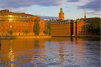 stockholm - Helgeandsholmen at sunset, Gamla Stan, Stockholm, Sweden, Scandinavia, Europe Stock Photo - Premium Rights-Managednull, Code: 841-06502819