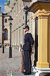 Royal Palace guard, Gamla Stan, Stockholm, Sweden, Scandinavia, Europe Stock Photo - Premium Rights-Managed, Artist: Robert Harding Images, Code: 841-06502861