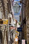 Narrow street, Old Town, Budva, Montenegro, Europe Stock Photo - Premium Rights-Managed, Artist: Robert Harding Images, Code: 841-06502903