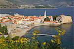 View of Old Town, Budva, Montenegro, Europe Stock Photo - Premium Rights-Managed, Artist: Robert Harding Images, Code: 841-06502933