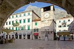 Old Town Clock Tower, Old Town, UNESCO World Heritage Site, Kotor, Montenegro, Europe Stock Photo - Premium Rights-Managed, Artist: Robert Harding Images, Code: 841-06502969