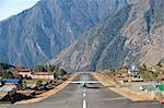 Lukla Airport and Runway, Solu Khumbu Region, Nepal, Himalayas, Asia Stock Photo - Premium Rights-Managed, Artist: Robert Harding Images, Code: 841-06503071