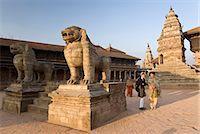 Siddhi Lakshmi Mandir, Durbar Square, Bhaktapur, UNESCO World Heritage Site, Kathmandu Valley, Nepal, Asia Stock Photo - Premium Rights-Managednull, Code: 841-06503106