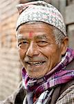 Portrait of Krishna Bharadhe, Bhaktapur, Nepal, Asia Stock Photo - Premium Rights-Managed, Artist: Robert Harding Images, Code: 841-06503125