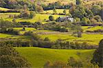 The sun lights up typical Lake District countryside near to Outgate, Cumbria, England, United Kingdom, Europe Stock Photo - Premium Rights-Managed, Artist: Robert Harding Images, Code: 841-06503247
