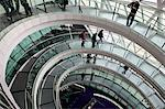 Interior of City Hall designed by Norman Foster, London, England, United Kingdom, Europe Stock Photo - Premium Rights-Managed, Artist: Robert Harding Images, Code: 841-06503361