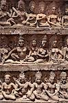 Stone carvings, Angkor Wat, UNESCO World Heritage Site, Siem Reap, Cambodia, Indochina, Southeast Asia, Asia Stock Photo - Premium Rights-Managed, Artist: Robert Harding Images, Code: 841-06503394