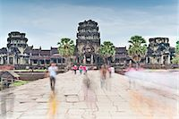 Temple Complex of Angkor Wat, Angkor, UNESCO World Heritage Site, Siem Reap, Cambodia, Indochina, Southeast Asia, Asia Stock Photo - Premium Rights-Managednull, Code: 841-06503423