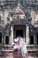 Temple Complex of Angkor Wat, Angkor, UNESCO World Heritage Site, Siem Reap, Cambodia, Indochina, Southeast Asia, Asia Stock Photo - Premium Rights-Managednull, Code: 841-06503425