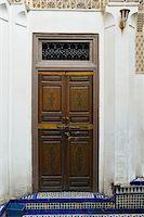 Decorative Wooden Door, Bahia Palace, Medina, Marrakesh, Morocco, Africa Stock Photo - Premium Rights-Managednull, Code: 700-06505748