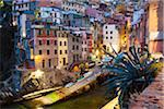 Clifftop village of Riomaggiore at dawn, Cinque Terre National Park, UNESCO World Heritage Site, Liguria, Italy Stock Photo - Premium Rights-Managed, Artist: F. Lukasseck, Code: 700-06512756
