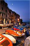 Clifftop village of Riomaggiore at dawn, Cinque Terre National Park, UNESCO World Heritage Site, Liguria, Italy Stock Photo - Premium Rights-Managed, Artist: F. Lukasseck, Code: 700-06512757