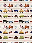 seamless transport pattern   Stock Photo - Royalty-Free, Artist: notkoo2008                    , Code: 400-06514538