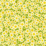 yellow white flowers seamless background pattern Stock Photo - Royalty-Free, Artist: 100ker                        , Code: 400-06515028