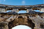 Ancient Roman Amphitheater in Pula, Istria, Croatia Stock Photo - Royalty-Free, Artist: anshar                        , Code: 400-06517662