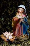 Holy Mary and little Jesus Stock Photo - Royalty-Free, Artist: FeSeven                       , Code: 400-06519739